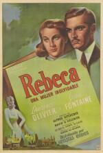 Rebecca / Rebeca (1940) poster, Argentine