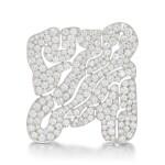 View 1 of Lot 125. Diamond brooch (Spilla in diamanti).