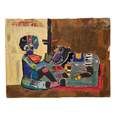 View 1. Thumbnail of Lot 18. SATISH GUJRAL   UNTITLED .