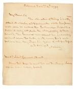NELSON   autograph letter signed, to Lieutenant General Stuart, 1799