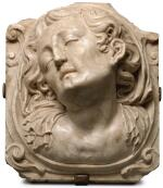 ATTRIBUTED TO JOAN GRAU (1608-1685), SPANISH, CATALONIA, CIRCA 1659-1671 | RELIEF WITH A MOURNING WOMAN