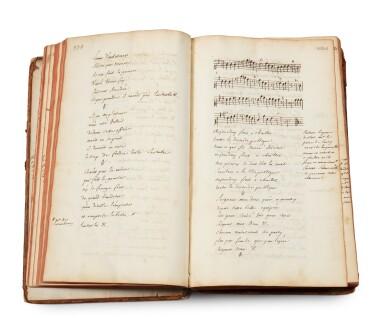 View 2. Thumbnail of Lot 19. TALLEMANT DES RÉAUX, Gédéon. [Vaudeville]. Manuscrit inconnu, en partie autographe, de pièces en vers.