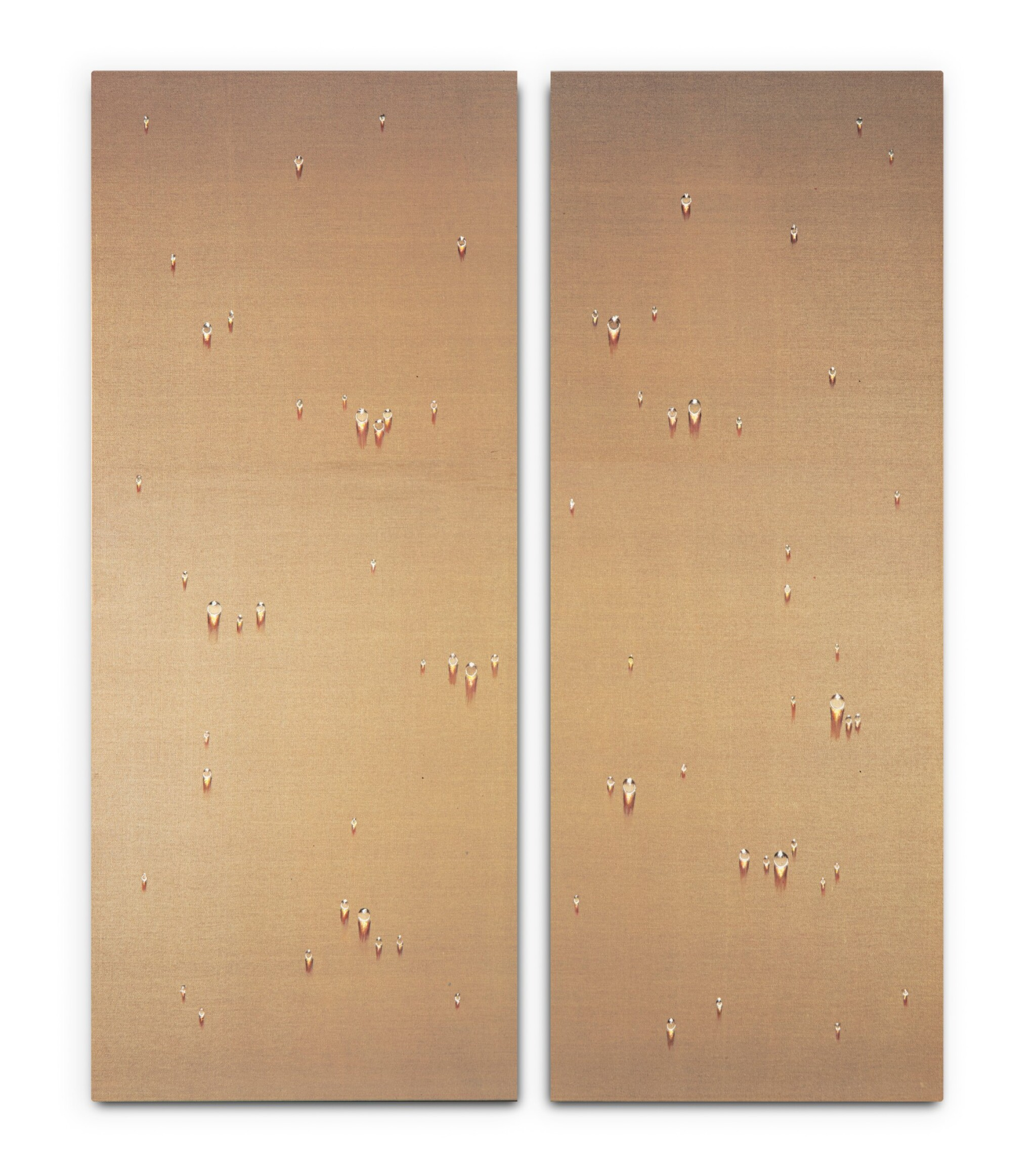 View 1 of Lot 151. Waterdrops (diptych)      .