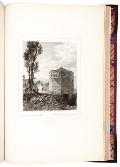 View 5. Thumbnail of Lot 160. Blouet | Expédition scientifique de Morée, 1831-1838, 3 volumes.
