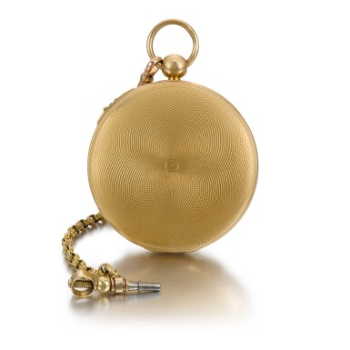 View 2. Thumbnail of Lot 221. CHARLES MUGNIER | A GOLD OPEN-FACED QUARTER REPEATING WATCH  CIRCA 1820, NO. 860.