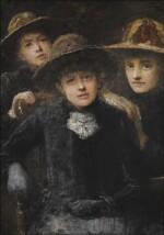 JOHN BUTLER YEATS | THREE GIRLS LISTENING TO MUSIC