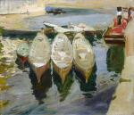 JOAQUÍN SOROLLA | Puerto de Guetaria, País Vasco (The Basque Port of Guetaria)