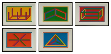 View 2. Thumbnail of Lot 99. Isometric Figures (K. 2002.01).
