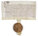 Queen Elizabeth I, Letters patent with Great Seal, 1594
