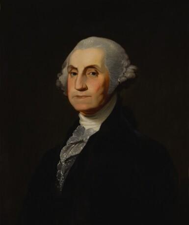 View 1. Thumbnail of Lot 92. Portrait of George Washington.
