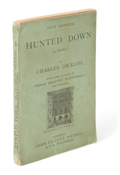 Dickens, Hunted Down, [1870], first English edition