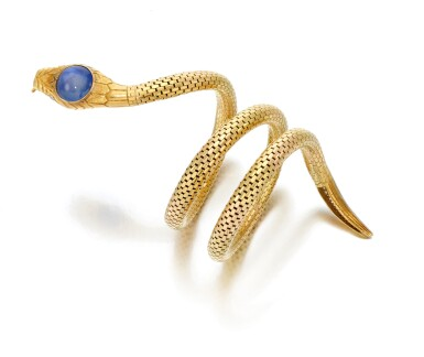 View 2. Thumbnail of Lot 18. Sapphire and diamond bracelet (Bracciale con zaffiro e diamanti), 1920     .