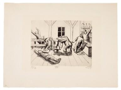 View 38. Thumbnail of Lot 19. Der Krieg (K. 70 - 119).