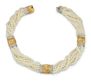 CULTURED PEARL NECKLACE, BUCCELLATI   養殖珍珠項鏈, 布切拉蒂(Buccellati)