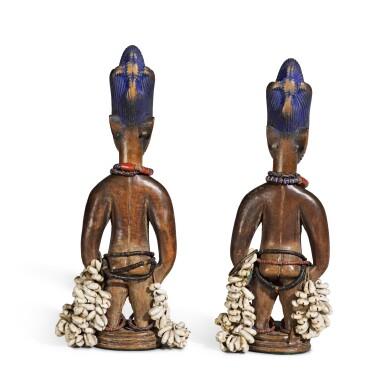 View 4. Thumbnail of Lot 150. Nigeria, Yoruba Peoples | Ere Ibeji Figures.