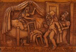 A COROZO NUT-SHAPED SNUFF-BOX, CIRCA 1810 AND A RECTANGULAR BOXWOOD SNUFF-BOX, CIRCA 1850 | DEUX TABATIÈRES, UNE EN COROZO EN FORME DE NOIX, VERS 1810, L'AUTRE RECTANGULAIRE EN BUIS FRUITIER, VERS 1850