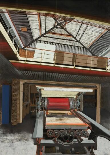View 2. Thumbnail of Lot 116. L'Imprimerie (La Presse de l'atelier Bellini).