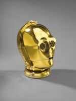 RETURN OF THE JEDI PROMOTIONAL C-3PO HELMET, 1983