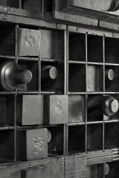 View 4. Thumbnail of Lot 504. LOUISE NEVELSON   WALL RELIEF.