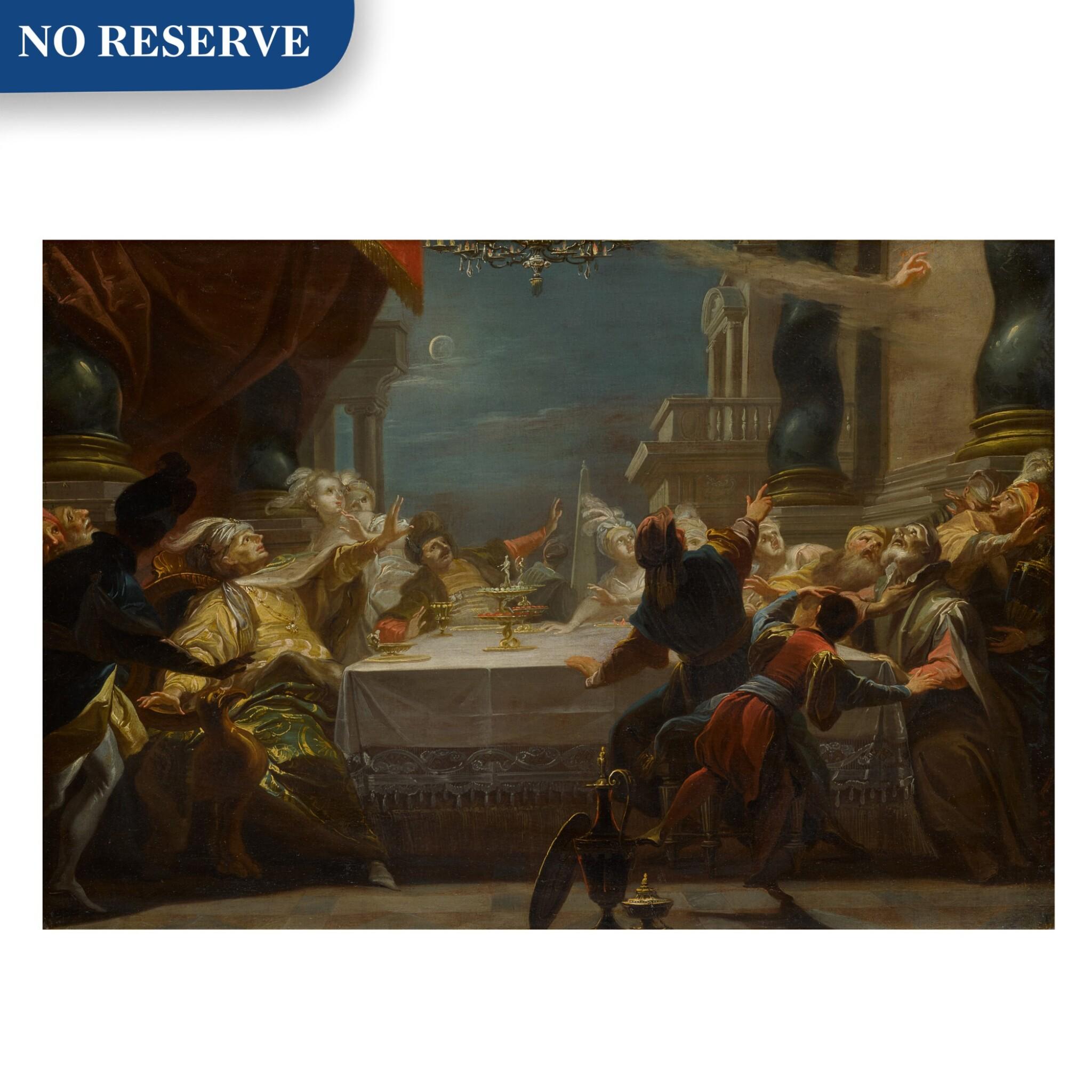 View full screen - View 1 of Lot 66. Belshazzar's Feast.