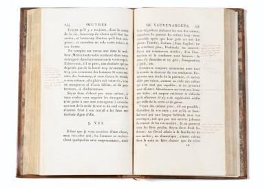 View 1. Thumbnail of Lot 167. Oeuvres. 1806 . Rel ép. Précieux exemplaire annoté (plus de 115 annotations)..