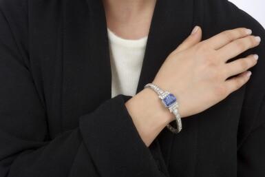 SAPPHIRE AND DIAMOND BRACELET (BRACCIALE CON ZAFFIRO E DIAMANTI)