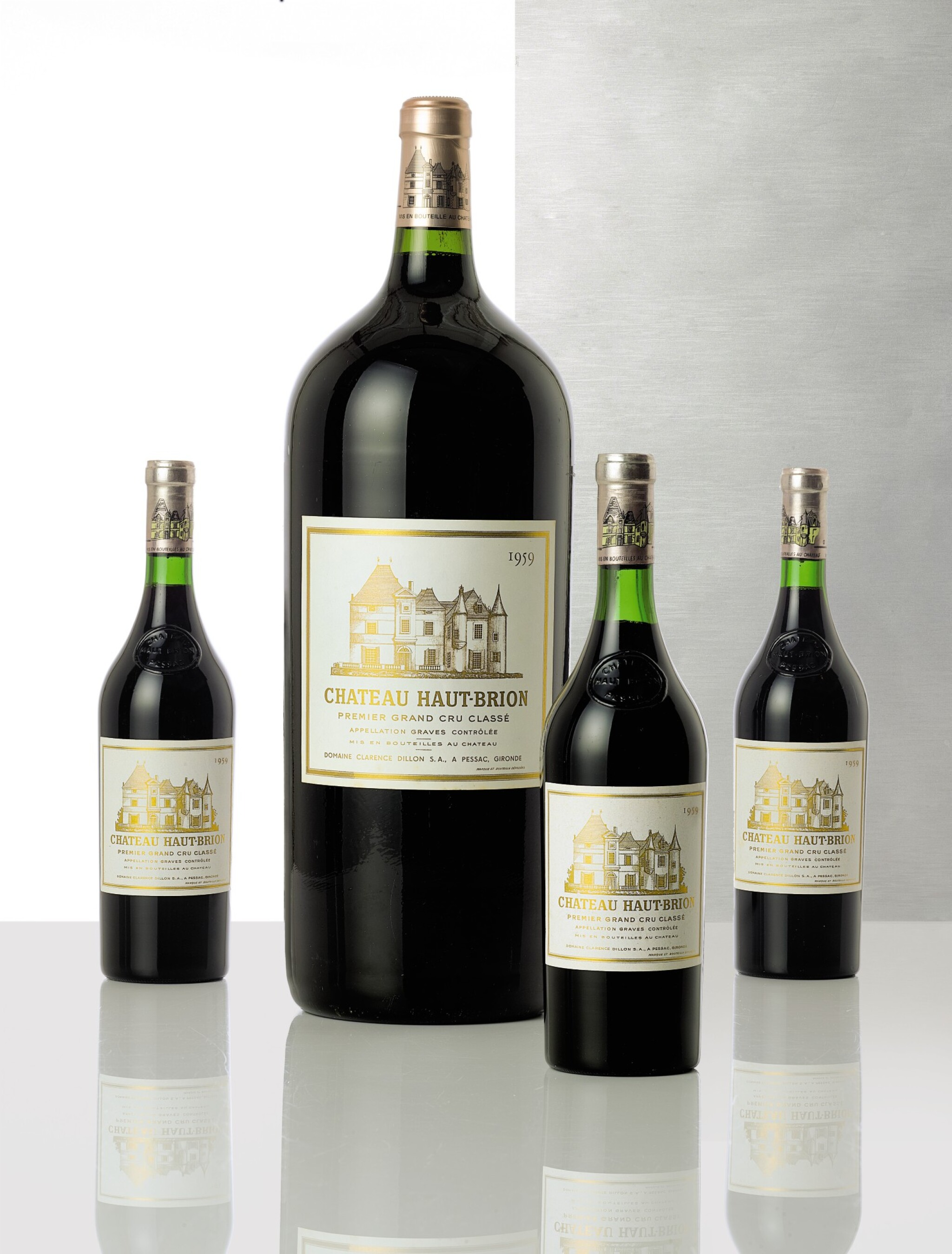 View full screen - View 1 of Lot 3225. Château Haut Brion 1959  (1 IMP).
