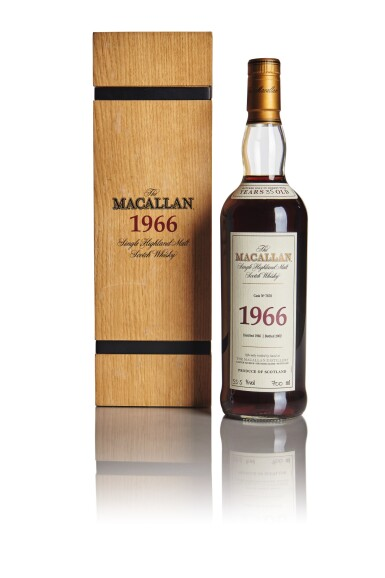 THE MACALLAN FINE & RARE 35 YEAR OLD 55.5 ABV 1966
