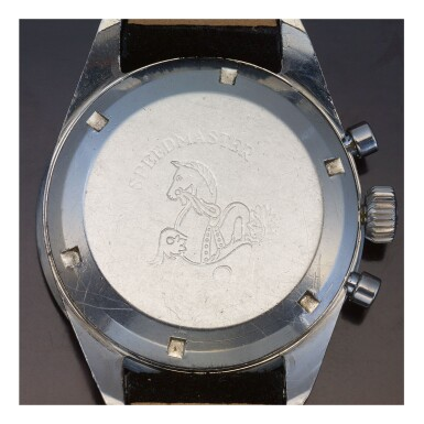 OMEGA   SPEEDMASTER REF ST 105.002-62 'MAPIC', A STAINLESS STEEL CHRONOGRAPH WRISTWATCH WITH BRACELET, CIRCA 1962