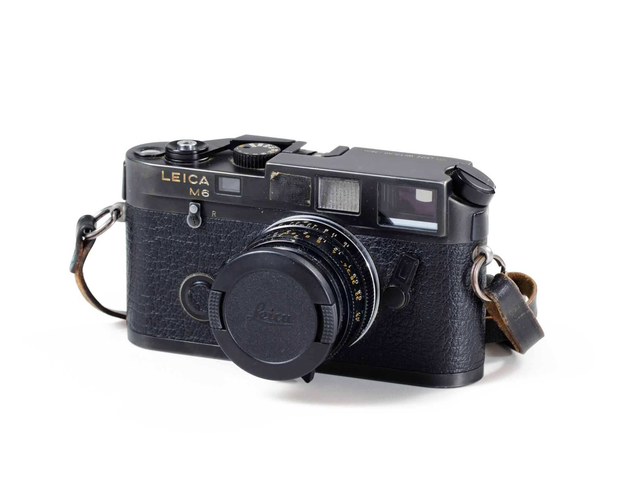 View full screen - View 1 of Lot 66. Leica M6 Camera of Paolo Roversi.