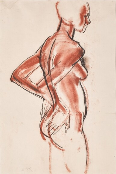 ERIC KENNINGTON, R.A. | FEMALE NUDE