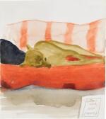 DAVID HOCKNEY, R.A. | AUDREY ON THE SOFA
