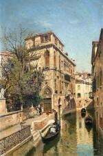 FEDERICO DEL CAMPO | A Venetian Waterway