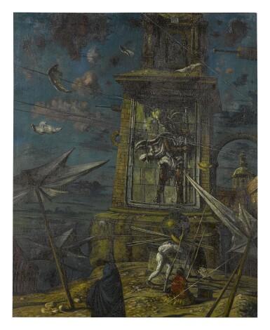 EUGENE BERMAN | LA TORRE DE SAN CRISTÓBAL (THE TOWER OF ST. CHRISTOPHER)