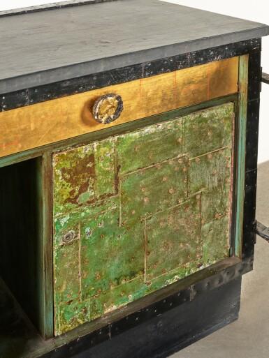 """View 5. Thumbnail of Lot 120. A Unique """"Sculpture Front"""" Cabinet."""