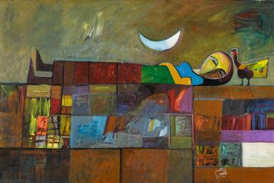 MOHAMED ABDALLA OTAYBI | RECLINING WOMAN