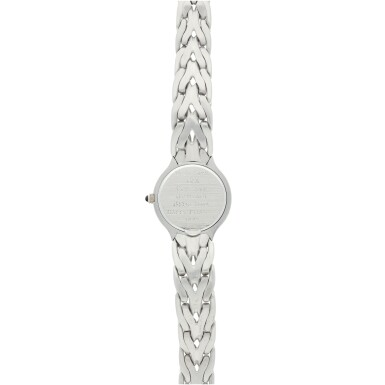 View 5. Thumbnail of Lot 37. REFERENCE 4816/3 LA FLAMME A LADY'S WHITE GOLD AND DIAMOND-SET BRACELET WATCH WITH MOTHER OF PEARL DIAL, MADE IN 1996.