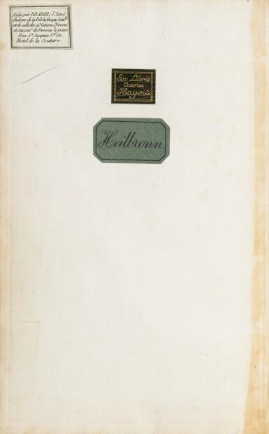 View 2. Thumbnail of Lot 19. Lettres à Émilie... Paris, 1800. 3 tomes in-8. Bel exemplaire de Joséphine Bonaparte relié par Bradel..