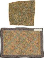 TWO EMBROIDERED 'NAKSH' PANELS, PERSIA, 19TH CENTURY