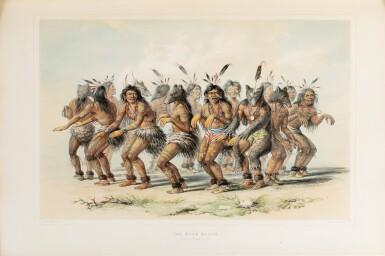 View 5. Thumbnail of Lot 146. CATLIN. North American Indians portfolio. Londres, 1844. 25 planches coloriées à la main. Premier tirage..