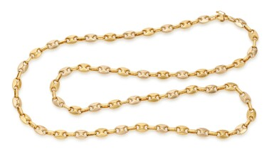 View 1. Thumbnail of Lot 73. NECKLACE (COLLANA) .