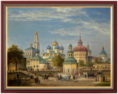 View 2. Thumbnail of Lot 31. JOSEPH ANDREAS WEISS   THE TRINITY LAVRA OF ST SERGIUS AT SERGIEV POSAD.