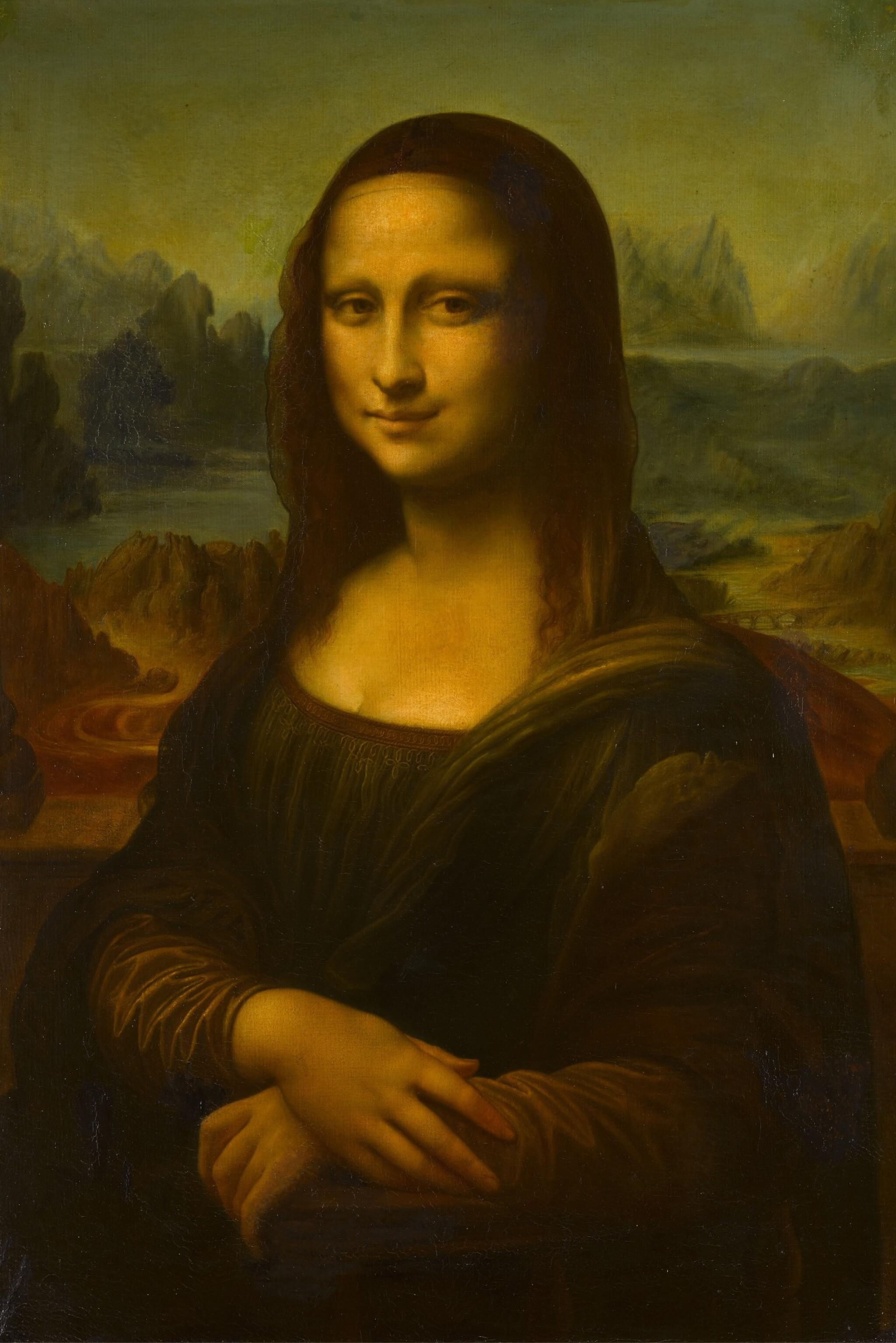 View full screen - View 1 of Lot 117. Mona Lisa.