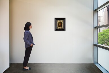 View 4. Thumbnail of Lot 4. MANNER OF PEDRO DE CÓRDOBA | THE VEIL OF VERONICA: THE HEAD OF CHRIST.