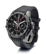 CHOPARD   CLASSIC RACING SUPERFAST SPLIT SECOND, REFERENCE 8542, A LIMITED EDITION DLC-COATED STAINLESS STEEL SPLIT SECONDS CHRONOGRAPH WRISTWATCH WITH DATE, CIRCA 2012