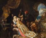 King Lear and Cordelia