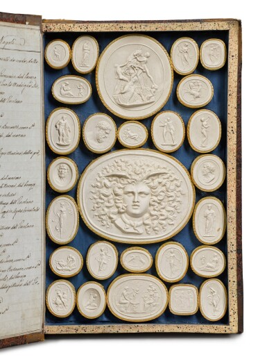 View 7. Thumbnail of Lot 42. A COLLECTION OF GRAND TOUR PLASTER INTAGLIOS BY PIETRO PAOLETTI, ROME, EARLY 19TH CENTURY.