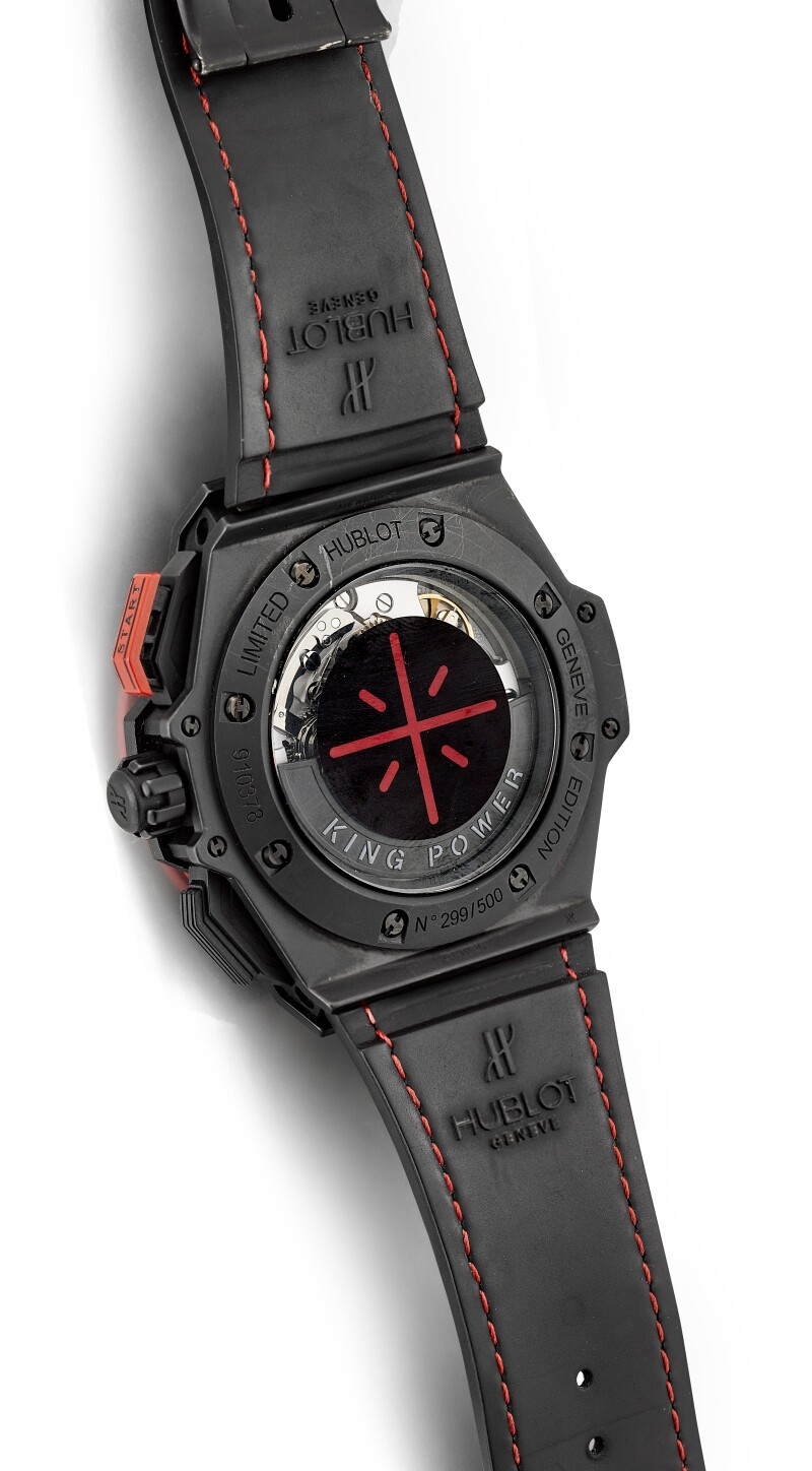 """Big Bang King Power """"Dwyane Wade"""", Reference 703.CI.1123.VR.DWD11   A Limited Edition Ceramic And Titanium Chronograph Wristwatch With Date, Circa 2013"""