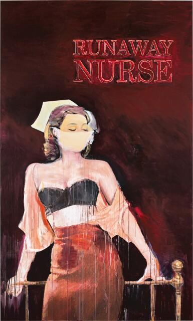 View 1. Thumbnail of Lot 8. Richard Prince 理查德・普林斯 | Runaway Nurse 逃脫的護士.