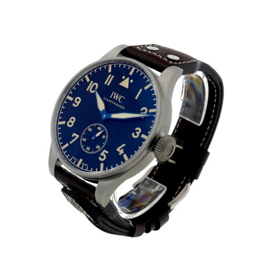 View 2. Thumbnail of Lot 53. REFERENCE IW5104-01 BIG PILOT HERITAGE 55 A LIMITED EDITION TITANIUM WRISTWATCH, CIRCA 2016.
